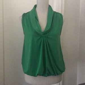 Express green fashion top